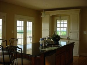 New 2 Story Home Dining Area View - Purcellville
